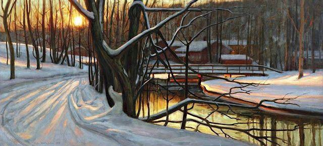 Victor Westerholm: Sydäntalven aurinko, 1908