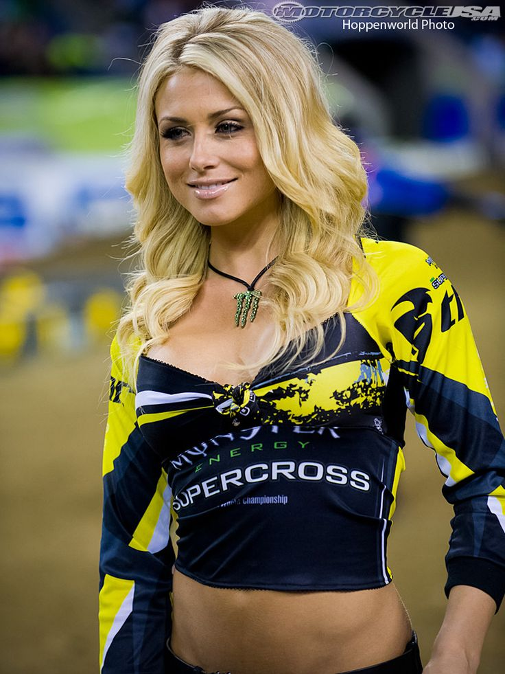 miss supercross dianna dahlgren wearing a custom monster energy x crispy bikinis top designed. Black Bedroom Furniture Sets. Home Design Ideas