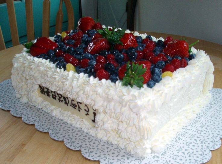 15 best Toronto reception images on Pinterest Fresh fruit cake