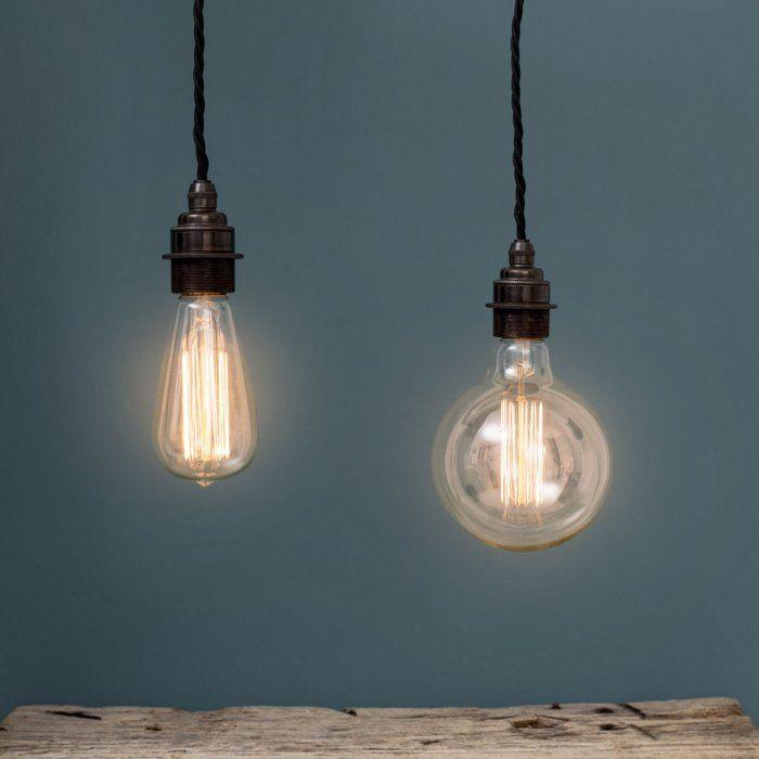 17 meilleures id es propos de douille ampoule sur for Suspension trois ampoules