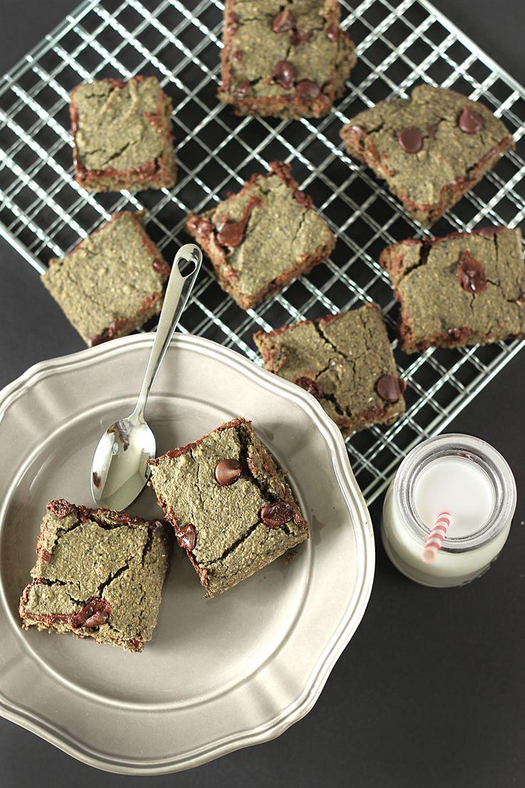 Green Vegan & Gluten-Free Brownies