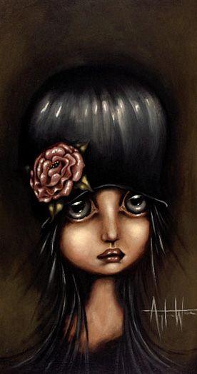 Big Eye art by Angelina Wrona