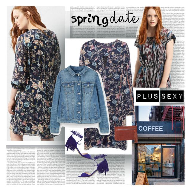 Spring Date Plus Sexy by stylepersonal on Polyvore featuring polyvore, fashion, style, MANGO, Violeta by Mango, Coffee Shop, clothing and springdate