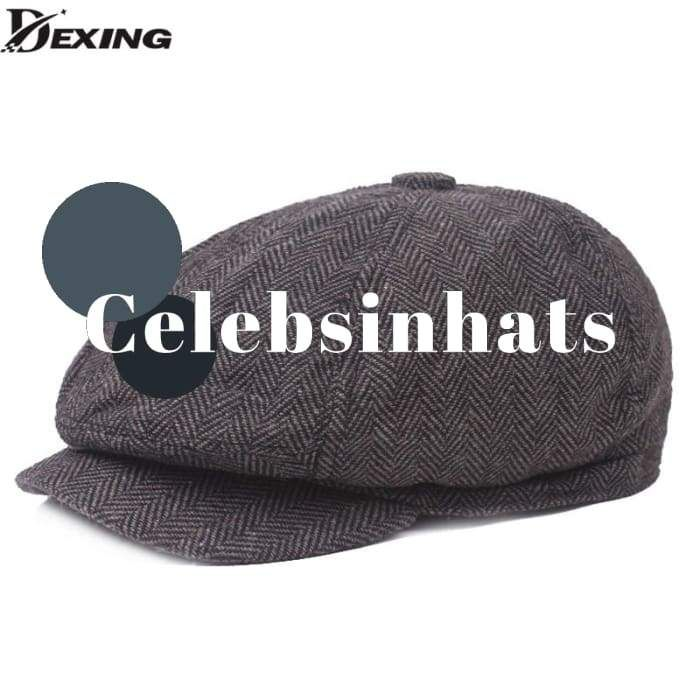 VGLOOKO Womens Wool Berets Beanies Cap Hats 8 Panel Baker Boy Flat Caps Newsboy Hat