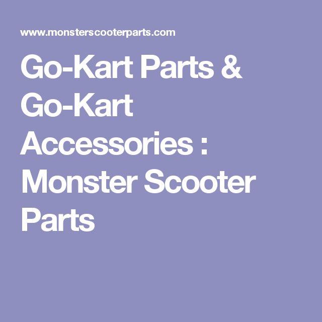 Go-Kart Parts & Go-Kart Accessories : Monster Scooter Parts
