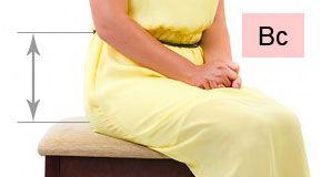Мерки для выкройки женских брюк