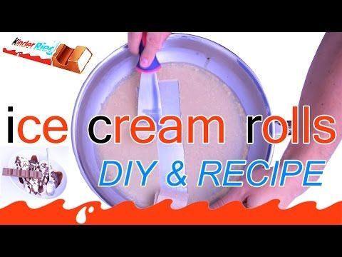 22 best a ice cream images on pinterest ice fried ice cream and how to make homemade fried ice cream rolls dessert kinder chocolate ccuart Images