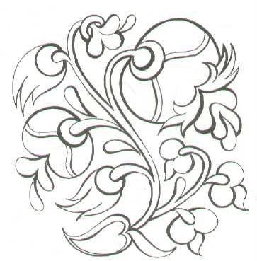 Madonna lily Turkish Design to embroider