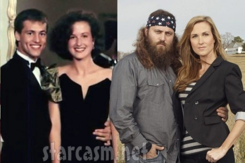 Duck Dynasty - before and after the beard! WHAT?! Can't believe how much John Luke looks like Willie