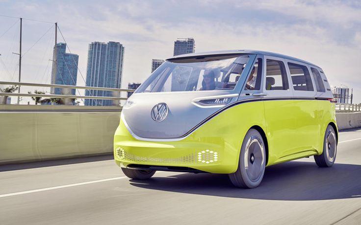 Volkswagen I.D. Buzz, el prototipo del monovolumen eléctrico estará en Ginebra.
