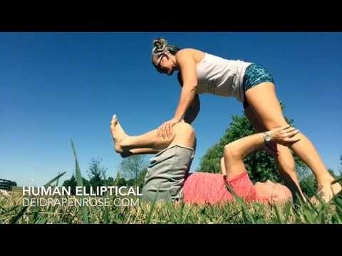Couples fitness motivation! Human Elliptical Challenge! https://www.facebook.com/foreverFITnurse/
