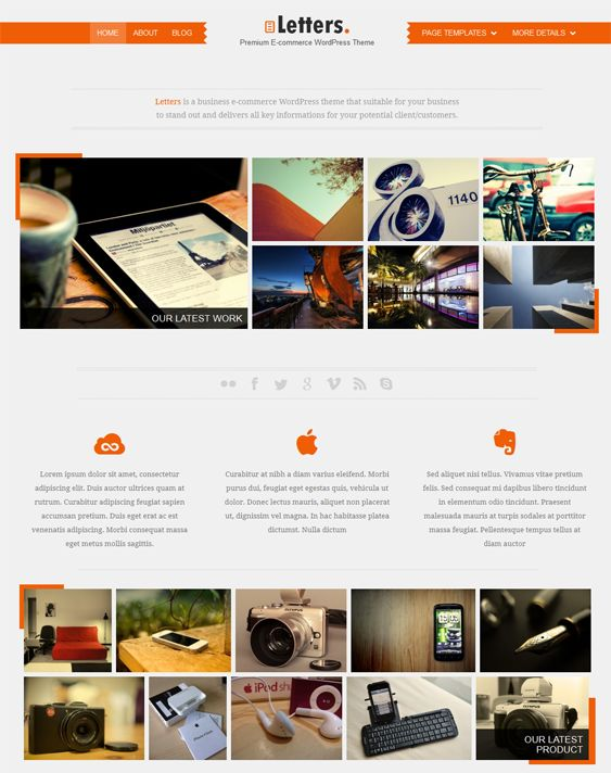 The 13 best 13 of the best wp e commerce wordpress themes images on this wp e commerce wordpress theme includes portfolio and gallery page templates easy color maxwellsz
