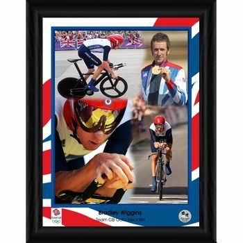 Bradley Wiggins Team GB 16x12 in. photo framed £75.00