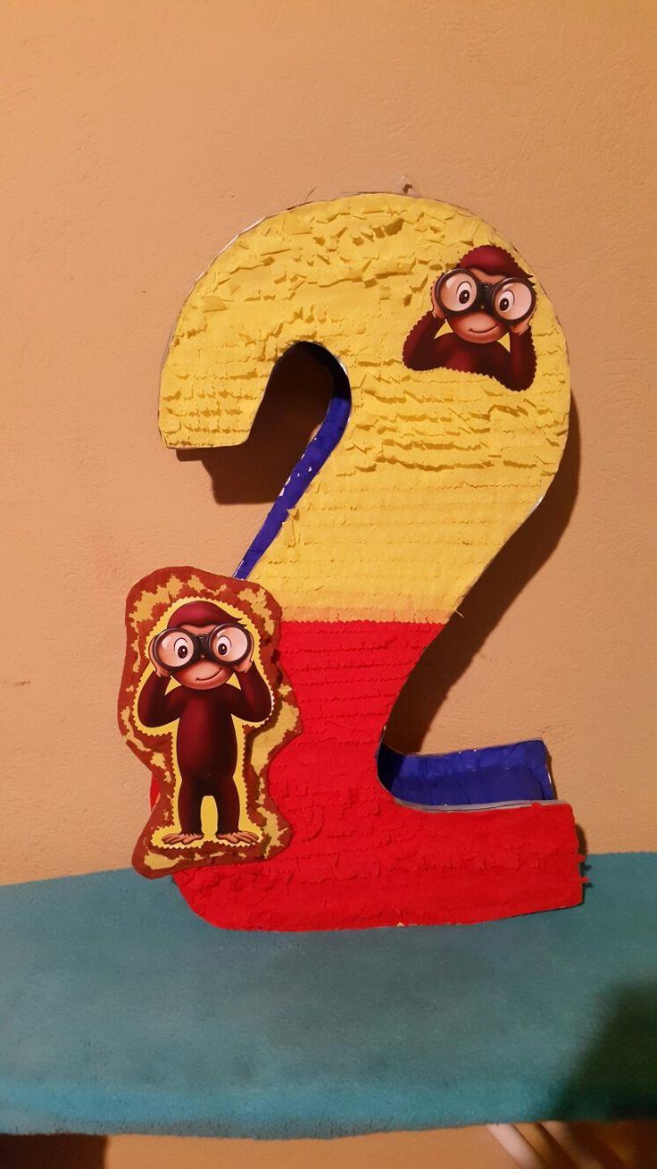Curious George Piñata, Birthday party