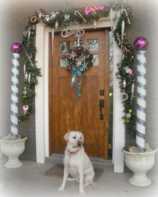 Christmas Door Frame Decorations: 110 Best Images About DIY Christmas Door Decorating Ideas
