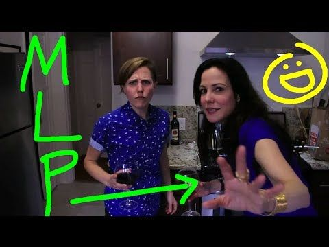 Hannah Hart and Mary Louise Parker Exchange Puns and Bake Brownies on 'My Drunk Kitchen'