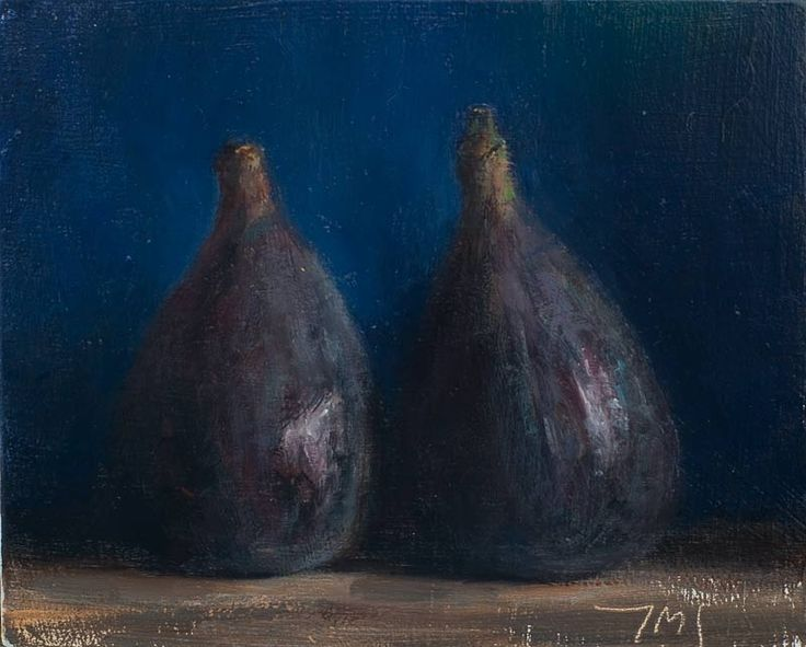 Daily paintings | Two figs | Postcard from Provence