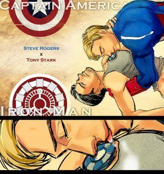 Steve Tony by liuhagaren