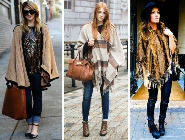 Fashion Jacket || Blog sobre tendências, moda, beleza, séries, viagens e tudo mais: [Tendência] Poncho