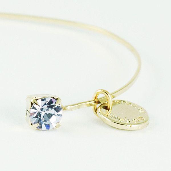 CATERINA MARIANI BIJOUX Swarovski Violet Bracelet | La Luce http://shoplaluce.com/collections/caterina-mariani-bijoux/products/caterina-mariani-bijoux-swarovski-violet