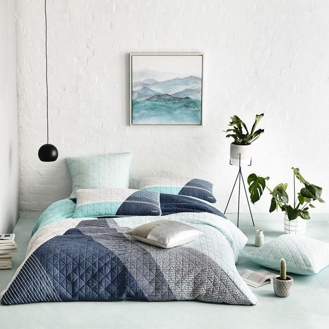 14 Colorful Duvet Covers to Get Your Bedroom Ready for Spring via Brit + Co