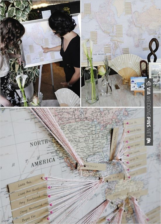 So neat! - travel theme | CHECK OUT MORE IDEAS AT WEDDINGPINS.NET | #weddings #travel #travelthemes #weddingplanning #coolideas #events #forweddings #weddingplaces #romance #beauty #planners #weddingdestinations #travelthemedweddings #romanticplaces #eventplanners #weddingdress #weddingcake #brides #grooms #weddinginvitations
