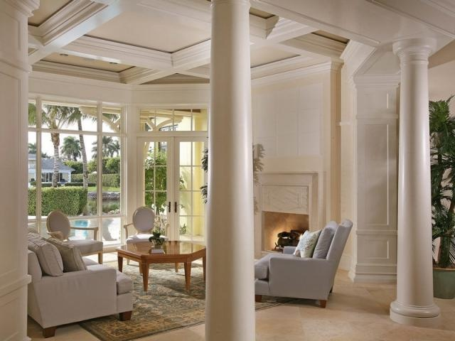 17 Best Images About Living Room Columns On Pinterest House Plans Bungalow
