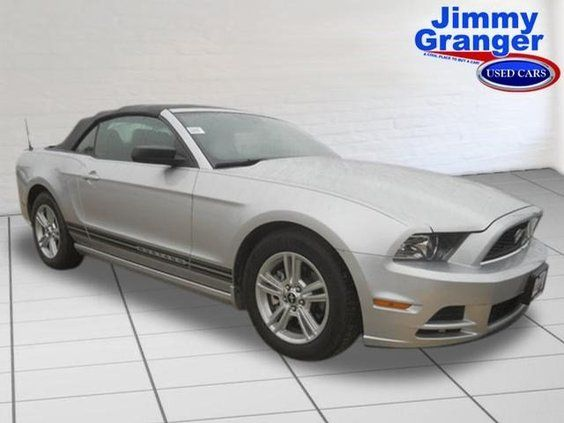 Used 2013 Ford Mustang V6 | Live chat with our internet specialists; tell them Maranda sent ya from Pinterest! | #Jimmy #Granger #Ford | #Stonewall | #Shreveport | #BossierCity | #Louisiana #LA #LSU #Cajun | Images shown are for informational purposes only, and may not necessarily represent the actual vehicle, configurable options selected or available on such vehicle. The manufacturer reserves the right to change product specifications, options, or prices at any time