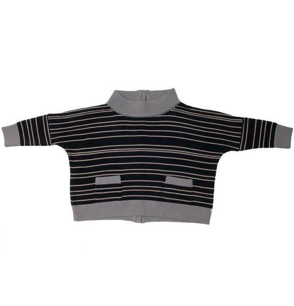 Merino knit sweater stripes by Perfect Days / CozyKidz.net