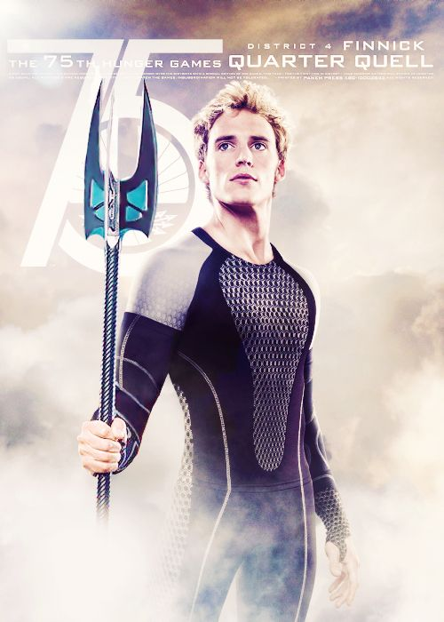 Finnick edit with his trident | Happy Hunger Games ...