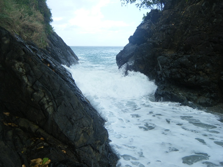 Black Rock, Island of Tobago, WI  A romantic, out of a book place to visit and experience.: Books Places