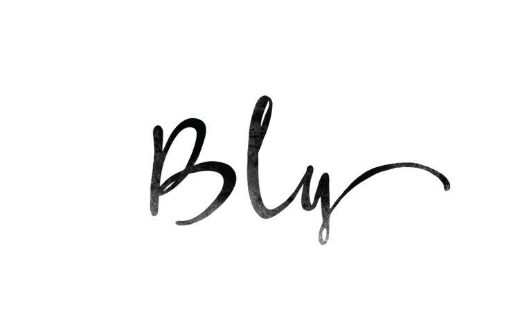 Font! Love!  Logos | Eva Black Design