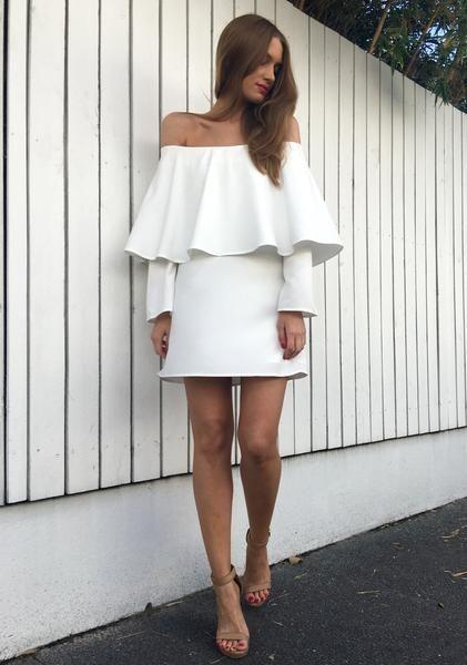 Harley Dress - White