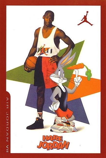 Michael Jordan + Bugs Bunny