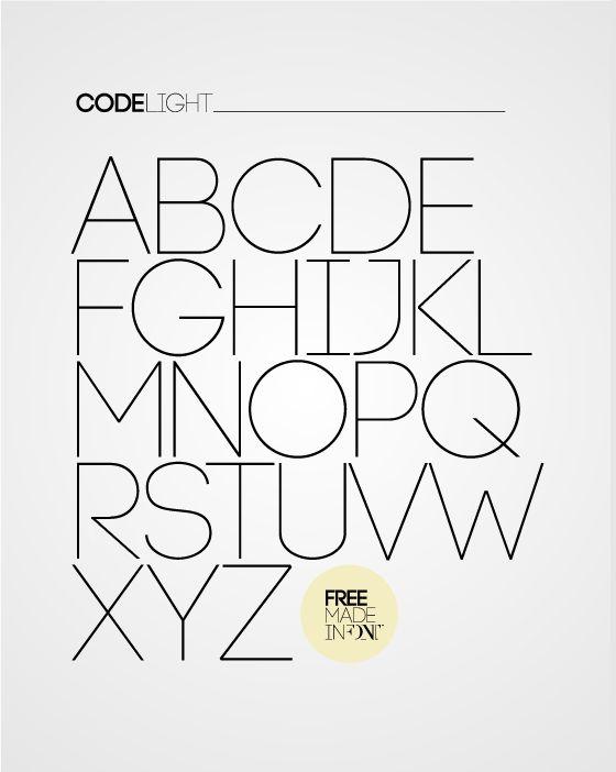 Code Free Font 01