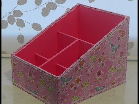 Коробки для хранения в ванной своими руками
