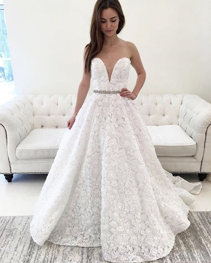 Bridal gown by Tara Keely