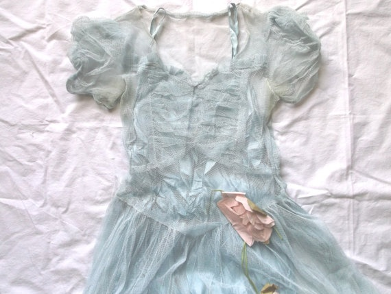 Vintage Baby Blue Shabby Worn Formal Dress with by finders4keepers: Baby Blue, Dresses Inspiration, Formal Dresses, Bridesmaid Dresses, Vintage Baby, Dresses Ideas, Blue Shabby, Shabby Formal, Fairies Tales