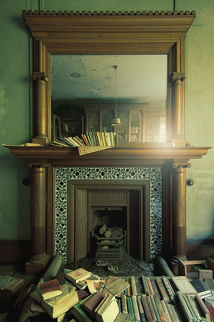 From An Abandoned Manor In The Uk By Jamescharlick Via