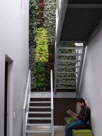 Karoo Pflanzenwand Vertikalen Garten grau 40 x 40 cm