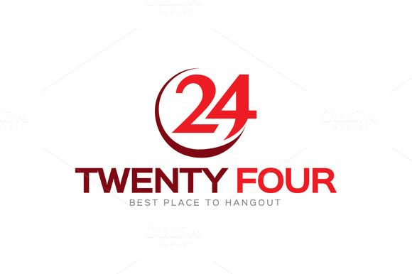 Check out Twenty Four Logo by LogoLabs on Creative Market