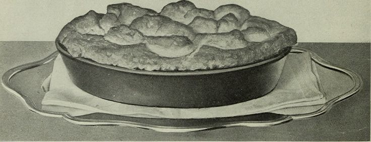 """Image from page 161 of """"The Boston Cooking School magazine of culinary science and domestic economics"""" (1896)  PIE FROM REMNANTS OF ROAST BEEF"""