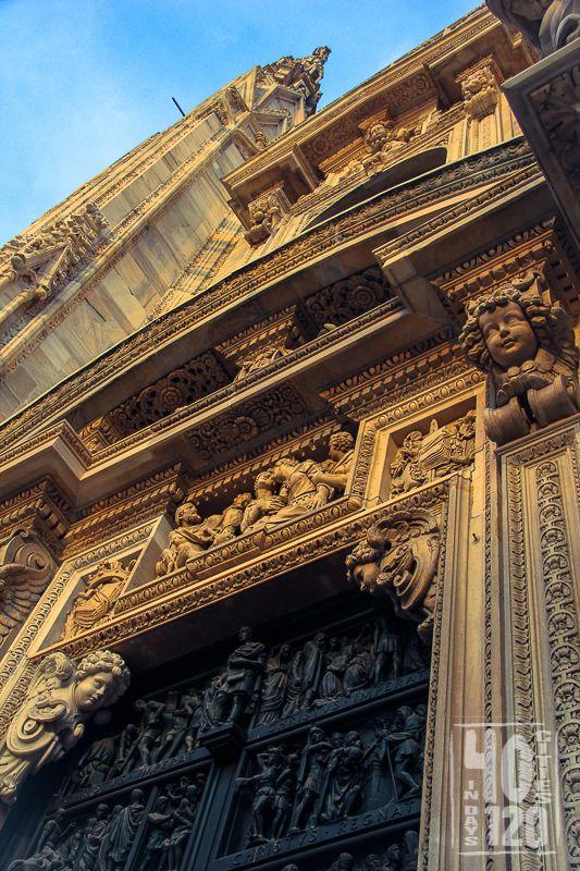 Milan Cathedral, Duomo di Milan. Milan - Italy