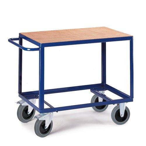 GTARDO.DE:  Tischwagen, Tragkraft 500 kg, Ladefläche 1000x700 mm, Maße 1150x700 mm 230,00 €