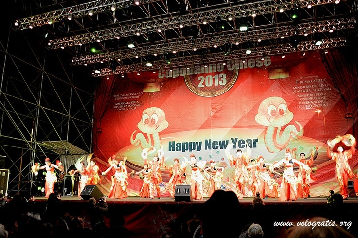 Il Capodanno Cinese 2013 a Roma: il video