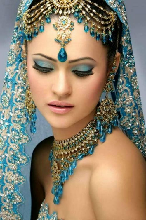 adorned in turquoise