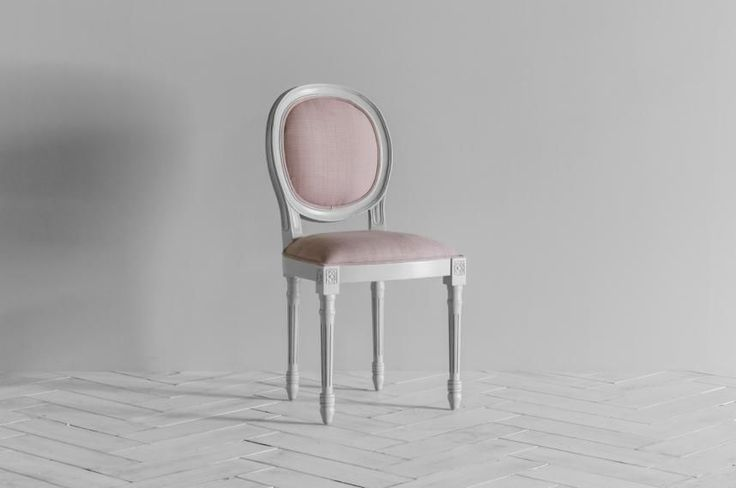 A delicate, exceptionally pretty dining chair