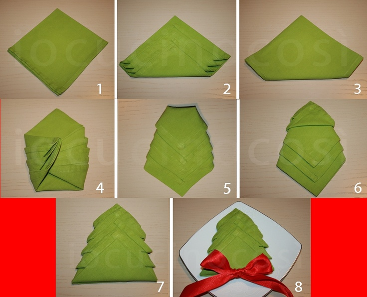 Wedding Table Napkin Folding