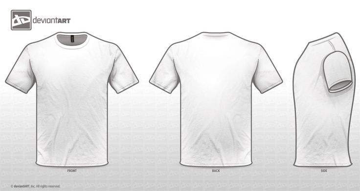 White T Shirt Back Template | Projects to Try | Pinterest | T ...