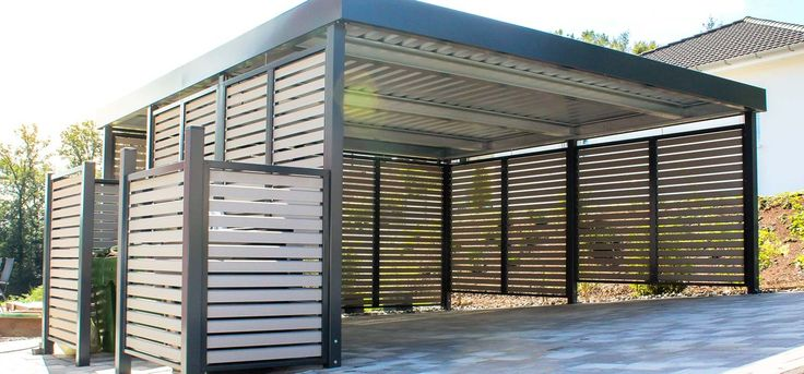 siebau carport gross muelleinhausung 1 500. Black Bedroom Furniture Sets. Home Design Ideas